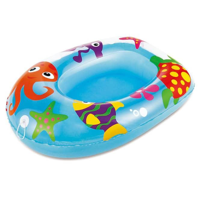 Babyboot  - Aquarium - blau