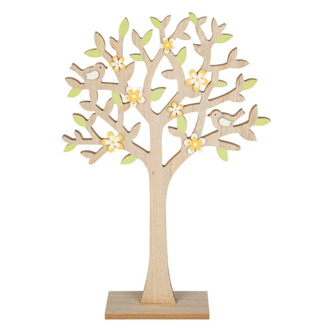Dekobaum - aus Holz - ca. 27 x 6 x 41 cm