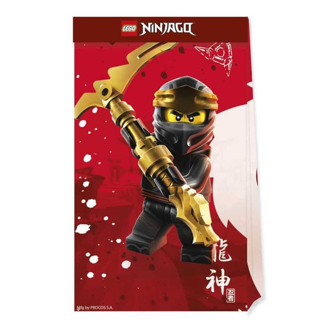 Lego Ninjago - 4 Partytüten