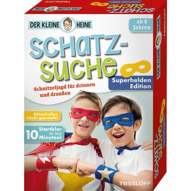 Der kleine Heine - Schatzsuche - Superhelden - Edition