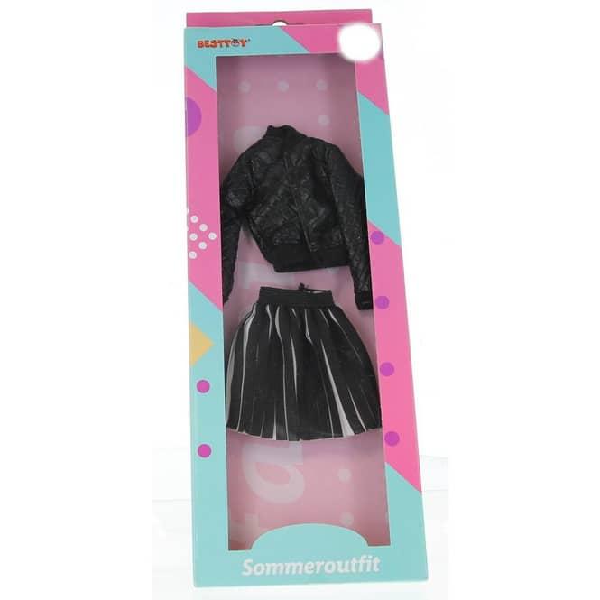 Besttoy - Modepuppenkleidung - Sommeroutfit - Rock und Jacke