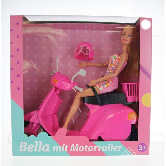 Besttoy - Modepuppe Bella mit Motorroller