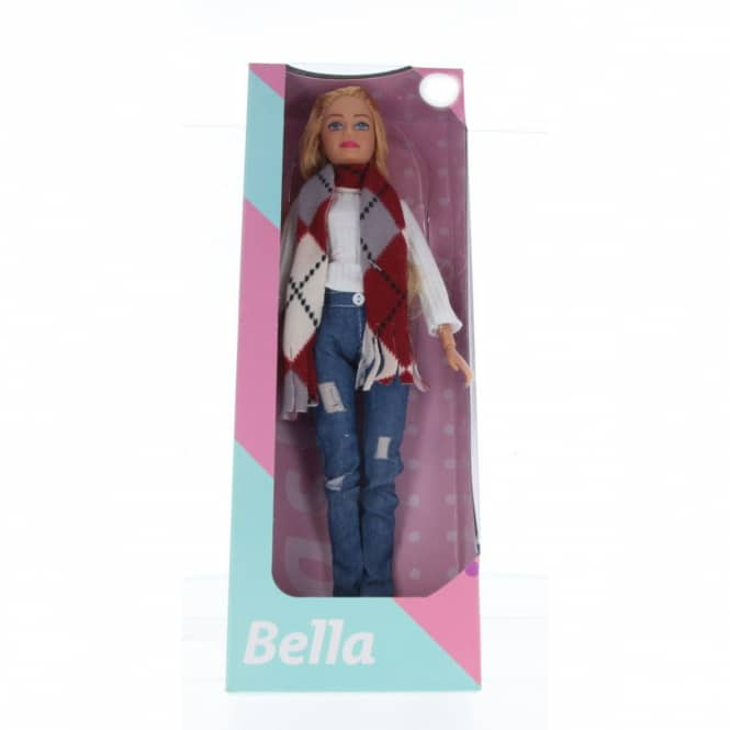 Besttoy - Modepuppe Bella mit Winteroutfit