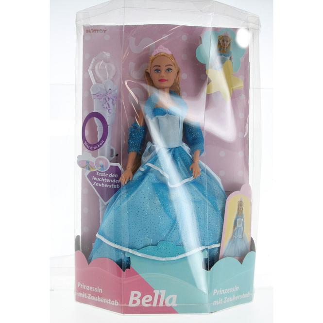 Besttoy - Modepuppe - Prinzessin Bella mit Zauberstab - rosa