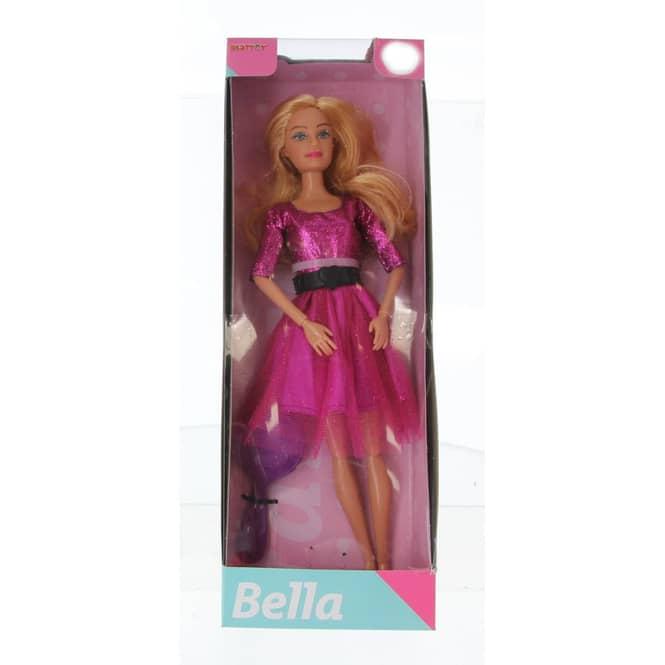 Besttoy - Modepuppe Bella - Partyoutfit lila