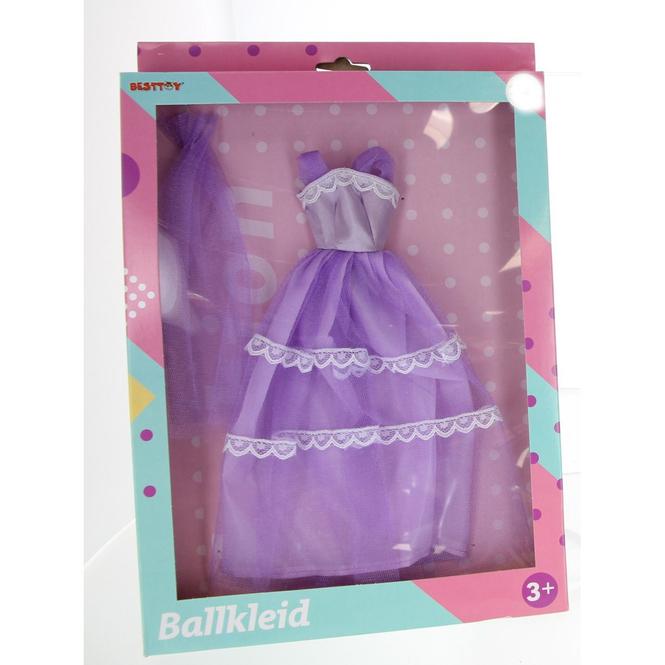 Besttoy - Modepuppenkleidung - rosa Prinzessinnenkleid