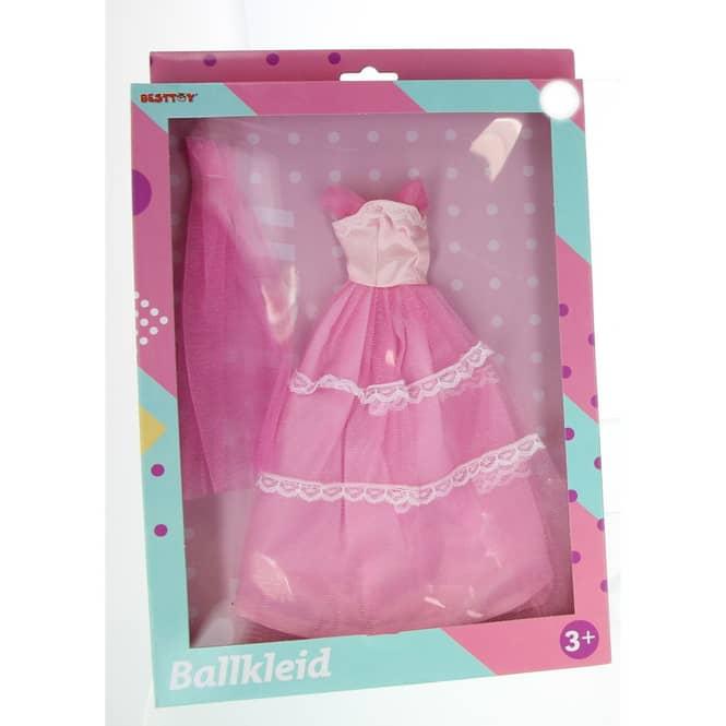 Besttoy - Modepuppenkleidung - lila Prinzessinnenkleid