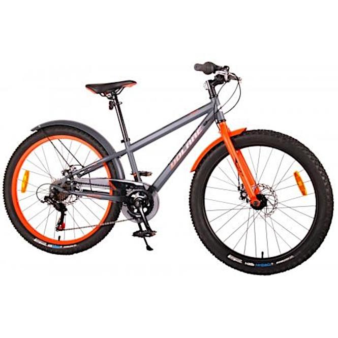 Fahrrad - Volare Rocky - 24 Zoll - grau/orange