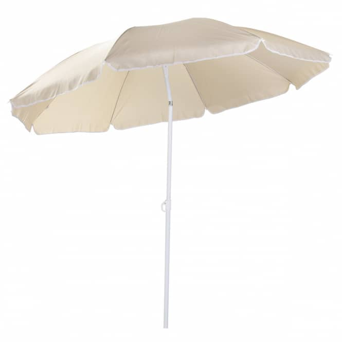 Sonnenschirm - Ø = ca. 180 cm - beige