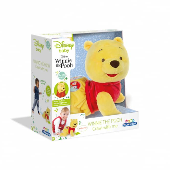 Baby Winnie Pooh - Krabbel mit mir - baby Clementoni