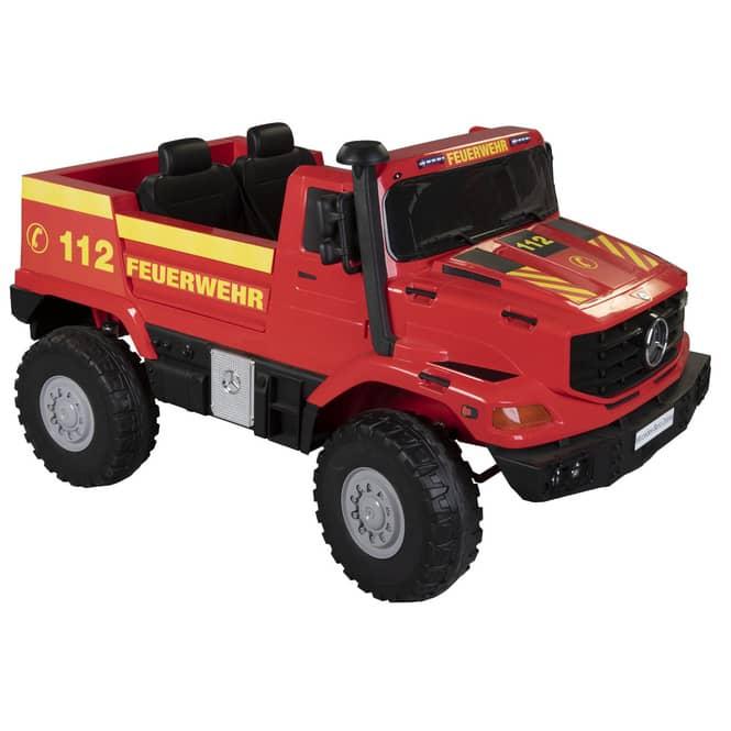 Besttoy - Kinder-Elektro-Feuerwehr-Unimog - Mercedes-Benz Zetros