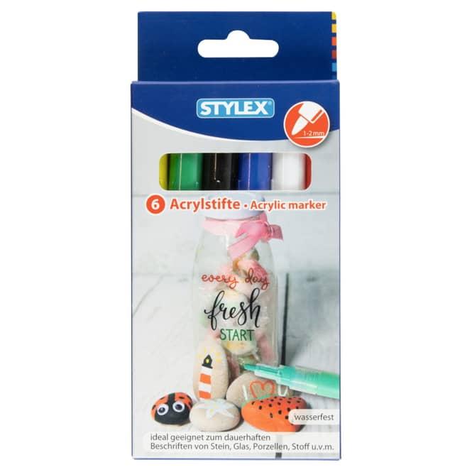 Acrylstifte - Fresh Start - 6er Set