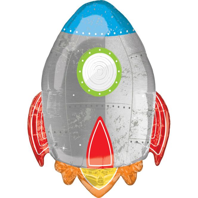 Folienballon - Rakete