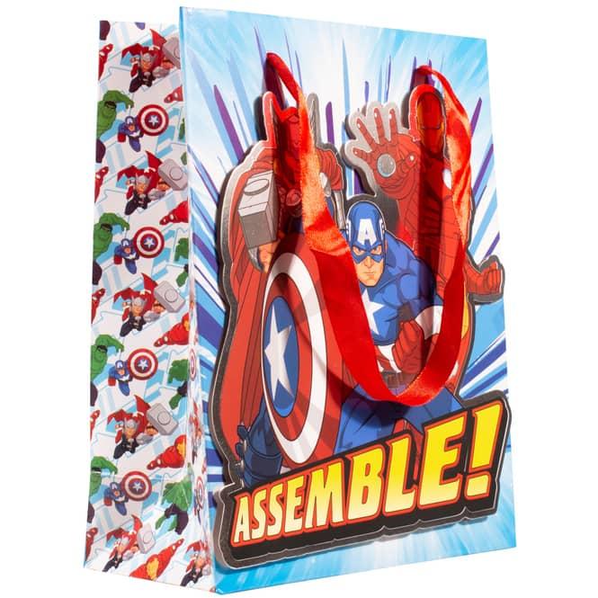 Marvel Avengers - Geschenktasche - 18 x 8,5 x 23 cm
