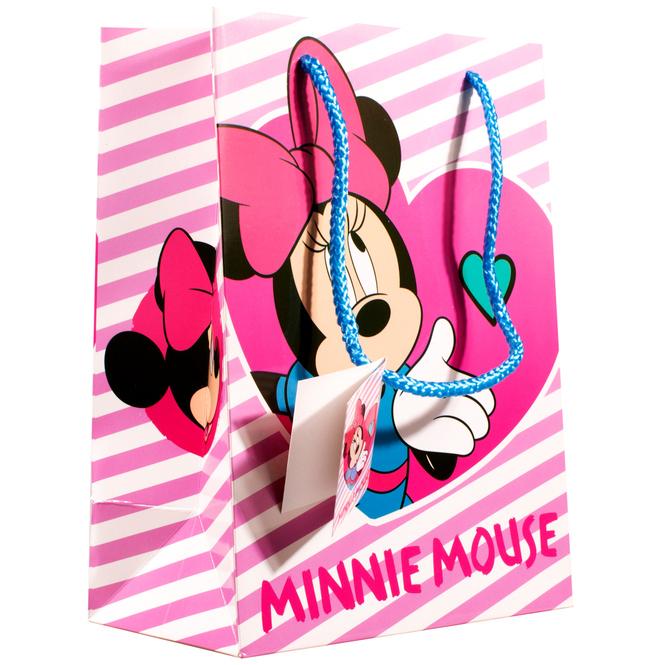 Minnie Maus - Geschenktasche - 24 x 17,7 x 10,2 cm