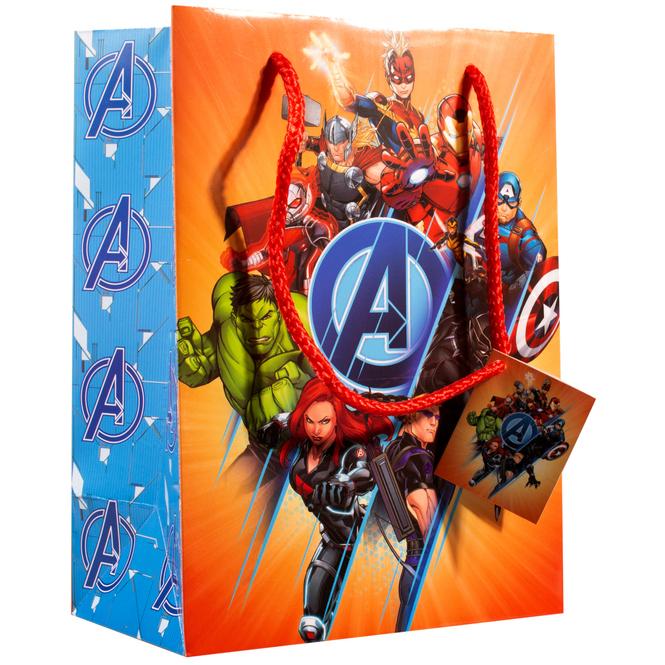 Marvel Avengers - Geschenktasche - 24 x 17,7 x 10,2 cm