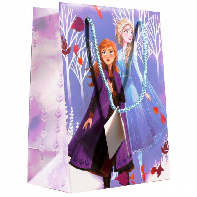 Die Eiskönigin 2 - Geschenktasche - 24 x 17,7 x 10,2 cm