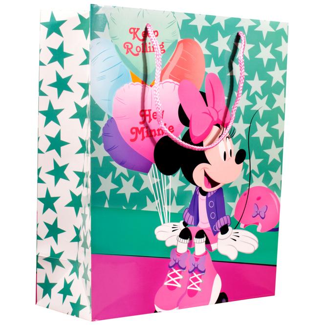 Minnie Maus - Geschenktasche - 26 x 33 x 11,4 cm