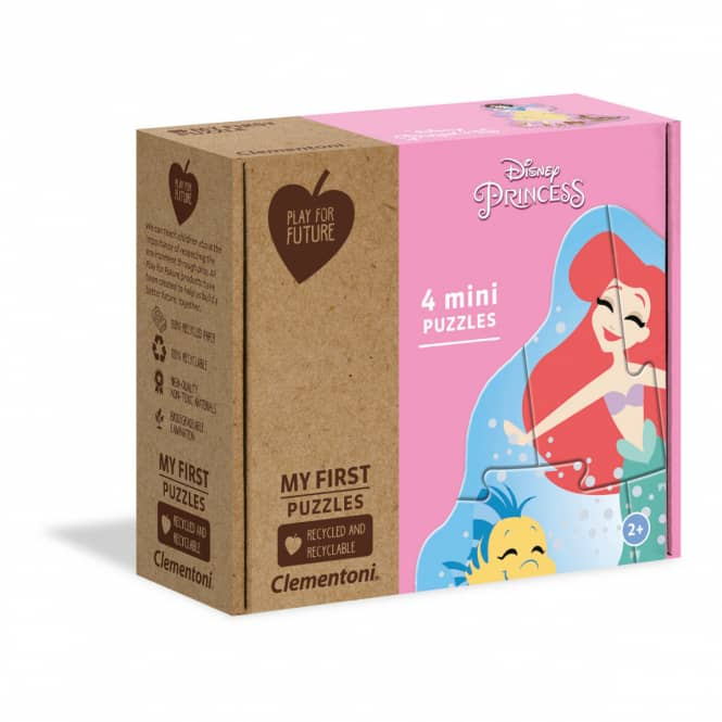 Disney Princess - Play for Future Puzzle - 4 Mini-Puzzle