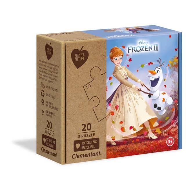Die Eiskönigin 2 - Play for Future Puzzle - 2 x 20 Teile