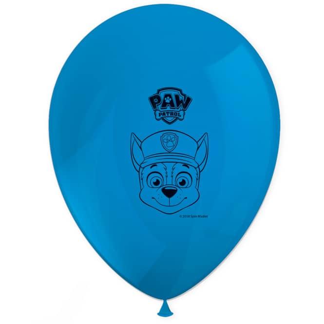 Paw Patrol - Ballons - 8 Stück