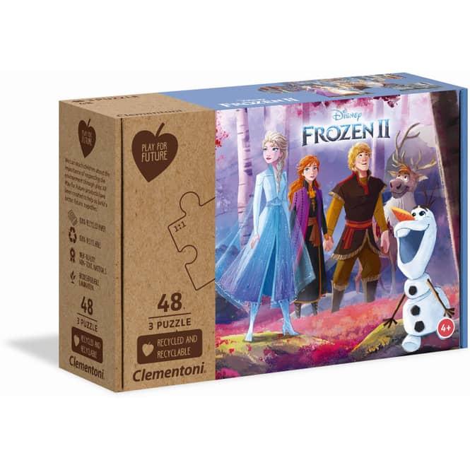Die Eiskönigin 2 - Play for Future Puzzle-Set - 3 x 48 Teile