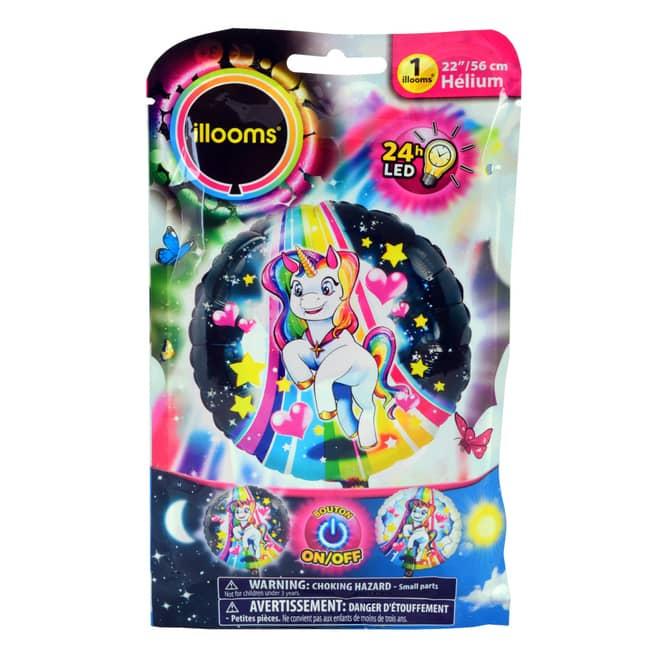 LED-Folienballon - Einhorn