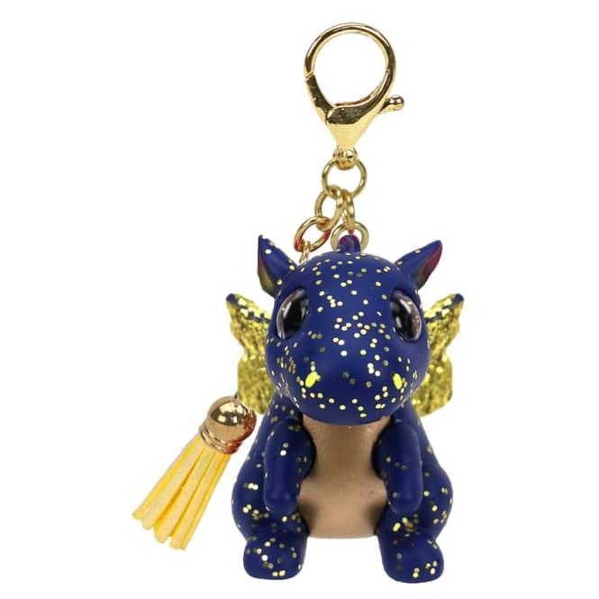 Mini Boo - Schlüsselanhänger - Drache Saffire - 7 cm - Ty