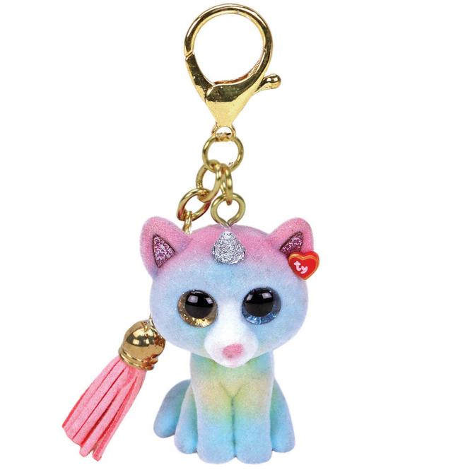 Mini Boo - Schlüsselanhänger - Katze Heather - 7 cm - Ty
