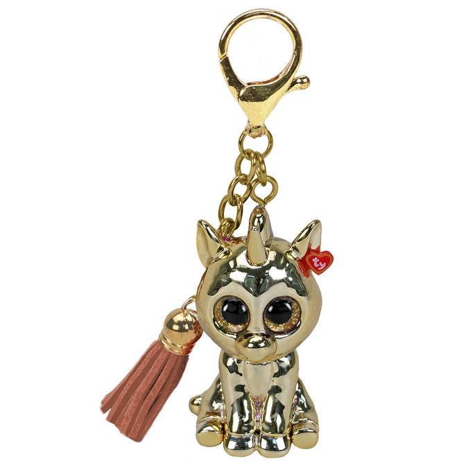 Mini Boo - Schlüsselanhänger - Einhorn Gold - 7 cm - Ty