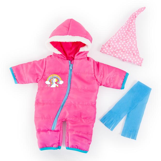 Kleiderset für Puppen - Winter - Größe 40-46 cm