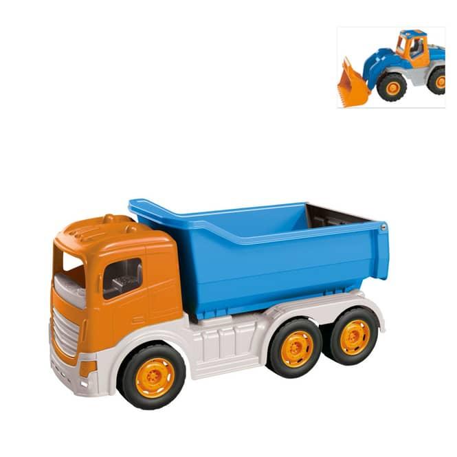 Baustellenfahrzeug - Kipper oder Schaufelbagger - 1 Stück