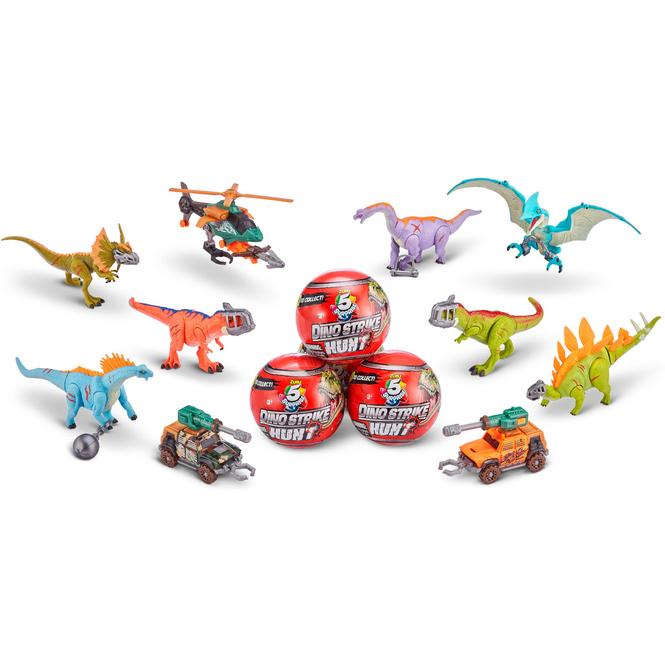 5 Surprise - Dino Strike Hunt Ei - 1 Stück