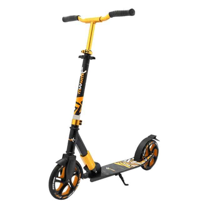 Alu Scooter - Muuwmi Deluxe - schwarz/orange