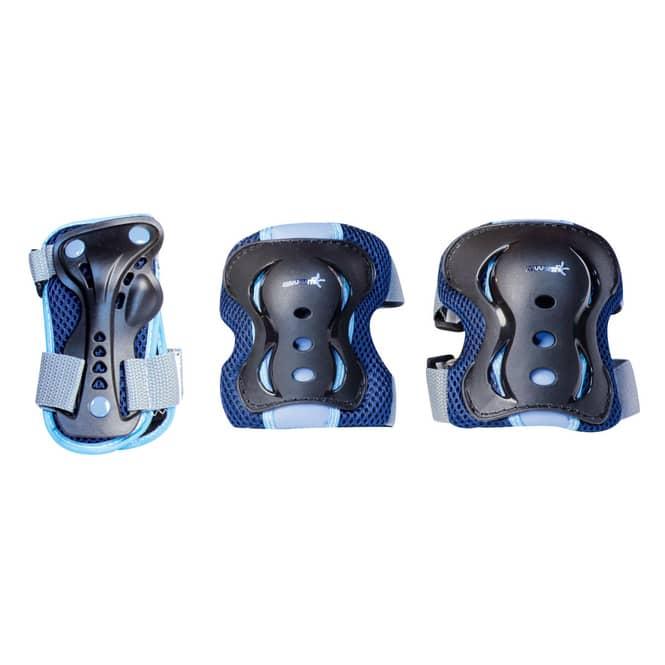 Protektoren Set - Muuwmi - blau - Größe M