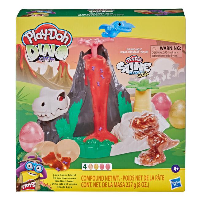 Play-Doh Dino Crew - Die Dino-Insel mit HydroGlitz Masse