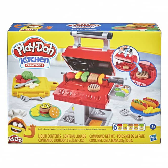 Play Doh Kitchen - Grillstation