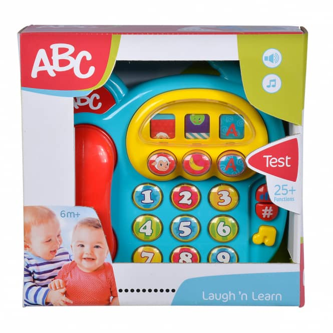ABC Buntes Telefon