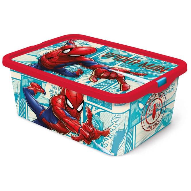 Spiderman - Aufbewahrungsbox mit Deckel - 13 L
