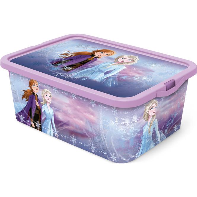 Die Eisköngin 2 - Aufbewahrungsbox mit Deckel - 13 L