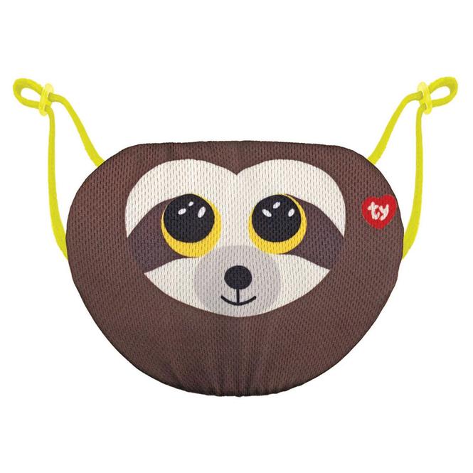 Beanie Boo - Mund-Nasen-Maske - Faultier - Dangler