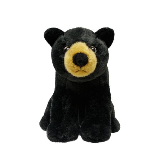Eco Nation - Plüschfigur - Bär schwarz