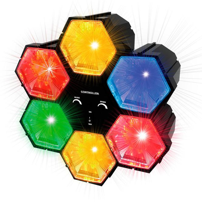 Besttoy - Party Licht Hexagon