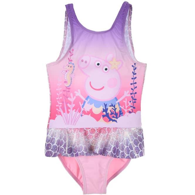 Peppa Wutz - Badeanzug - Peppa - rosa - Größe 110