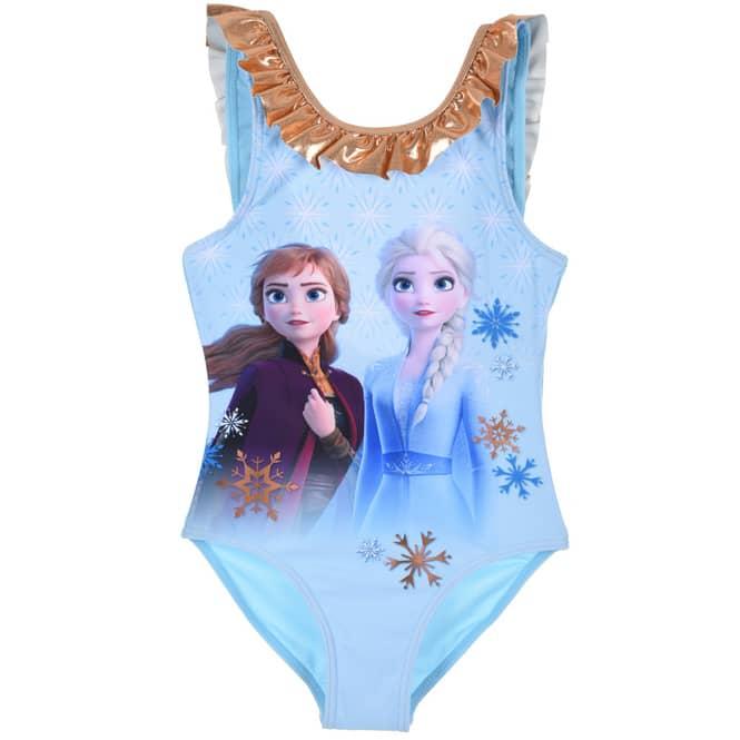 Die Eiskönigin 2 - Badeanzug - Anna und Elsa - blau- Größe 116