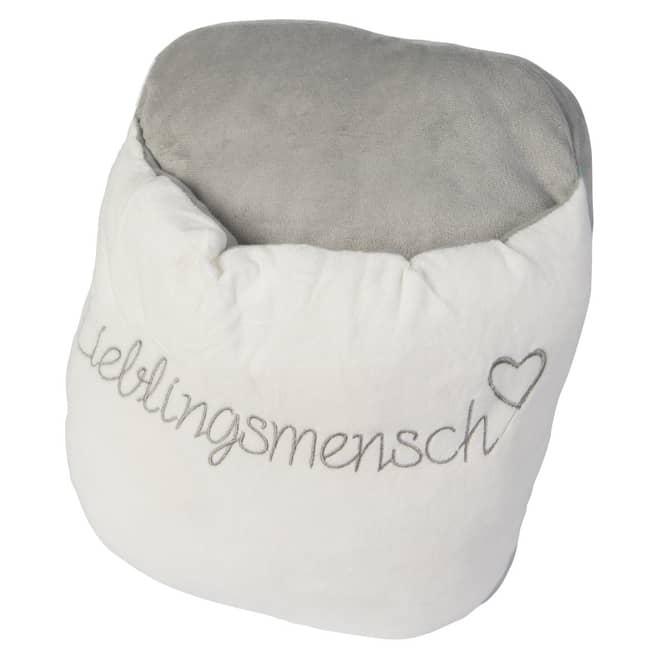 Fußwärmer - Lieblingsmensch - ca. 35 cm