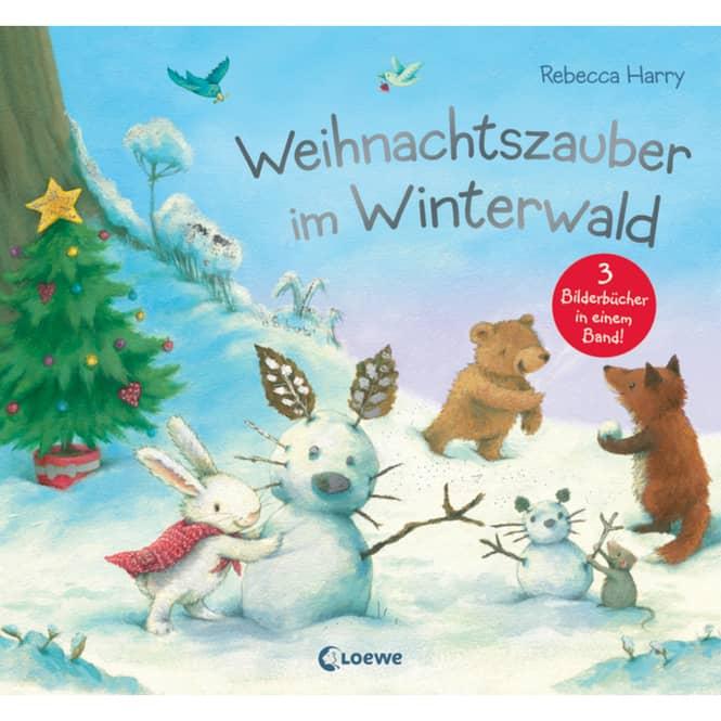 Weihnachtszauber im Winterwald - 3 Bilderbücher
