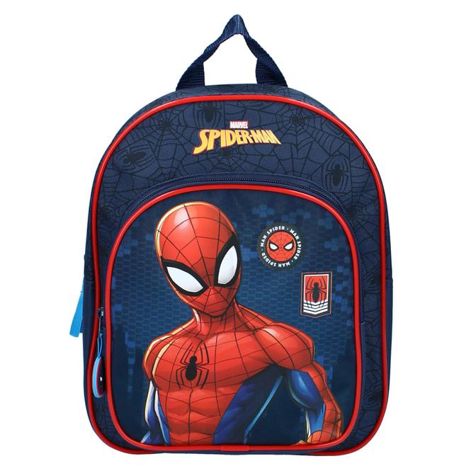 Spiderman - Kinderrucksack - rot/blau