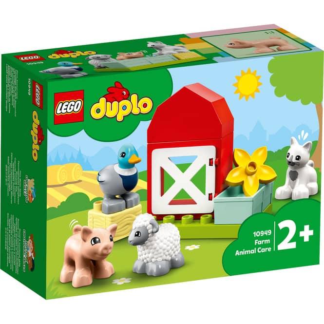 LEGO® DUPLO® Town 10949 - Tierpflege auf dem Bauernhof