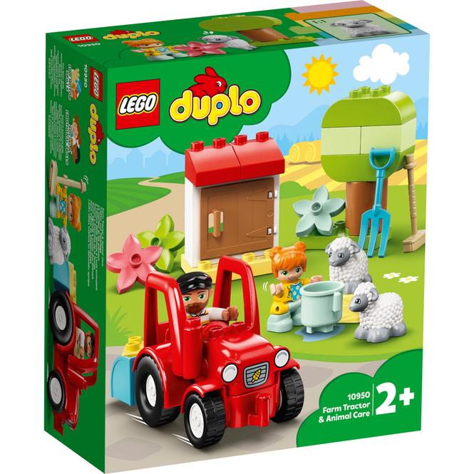 LEGO® DUPLO® Town 10950 - Traktor und Tierpflege